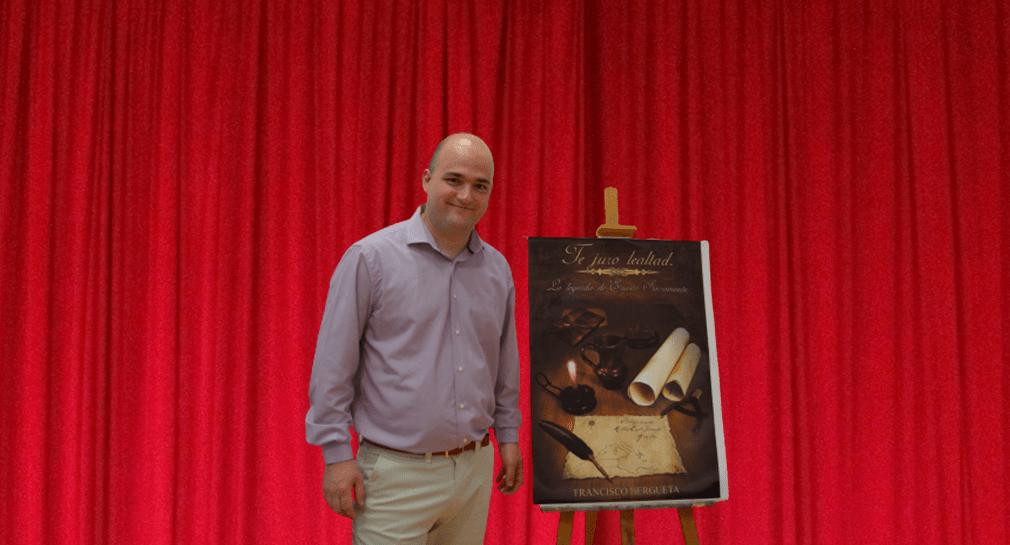 Francisco Hergueta, autor de la bilogía La leyenda de Sacromonte