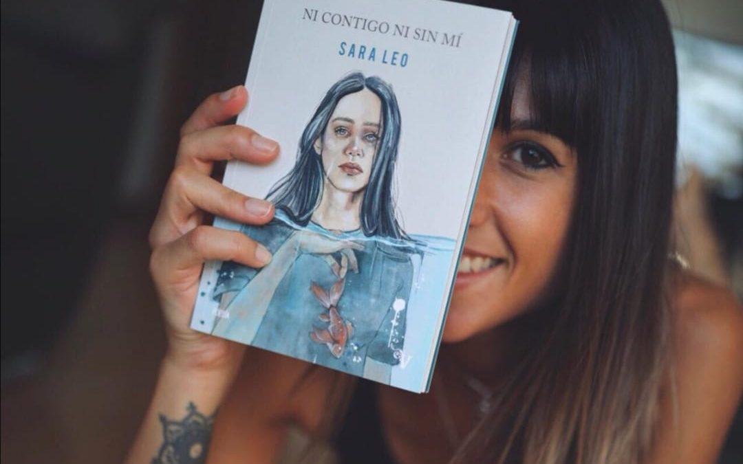 """""""Ni contigo ni sin mí"""", el nuevo poemario de la poeta Sara Leo"""