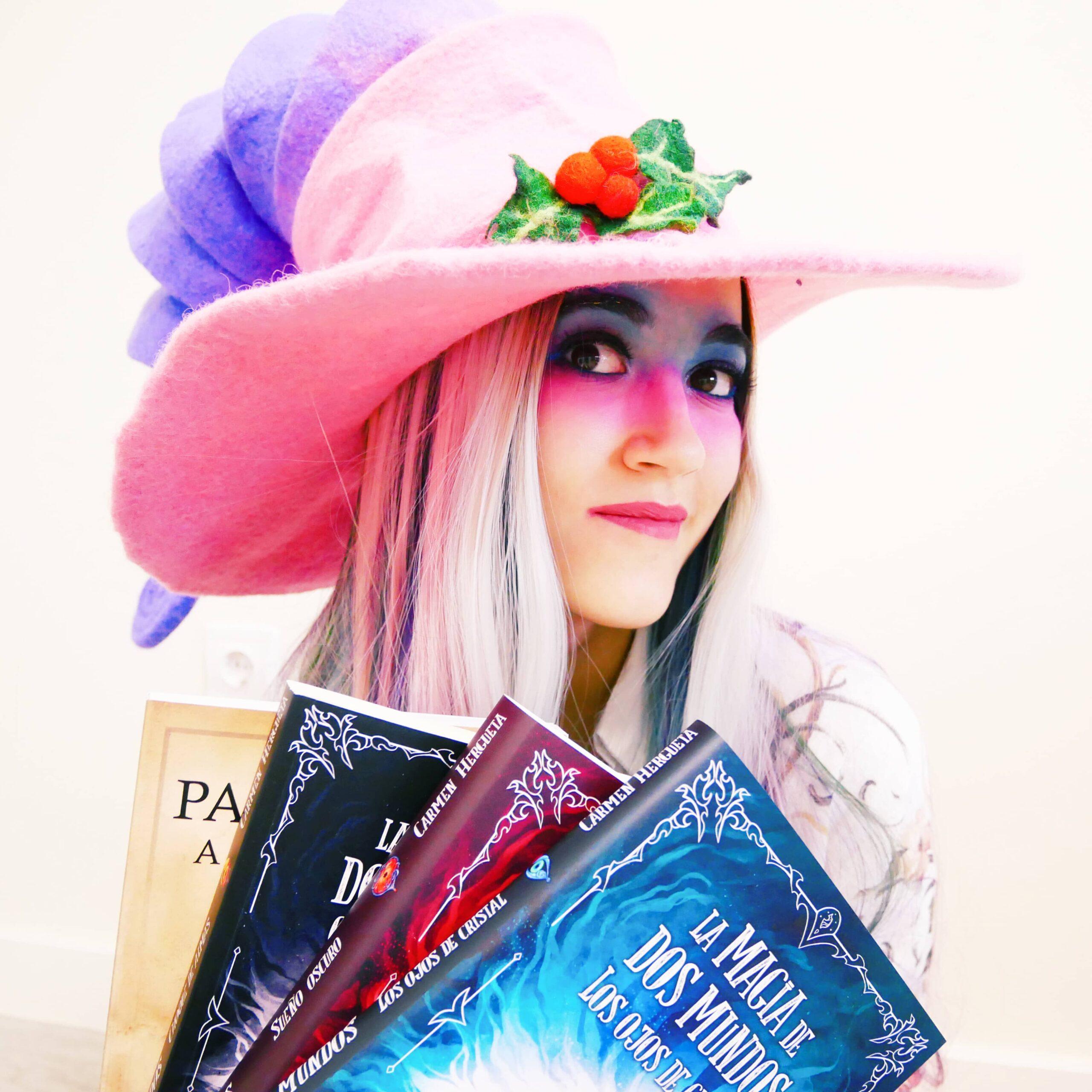 Viaja al mundo de fantasía creado por Carmen Hergueta