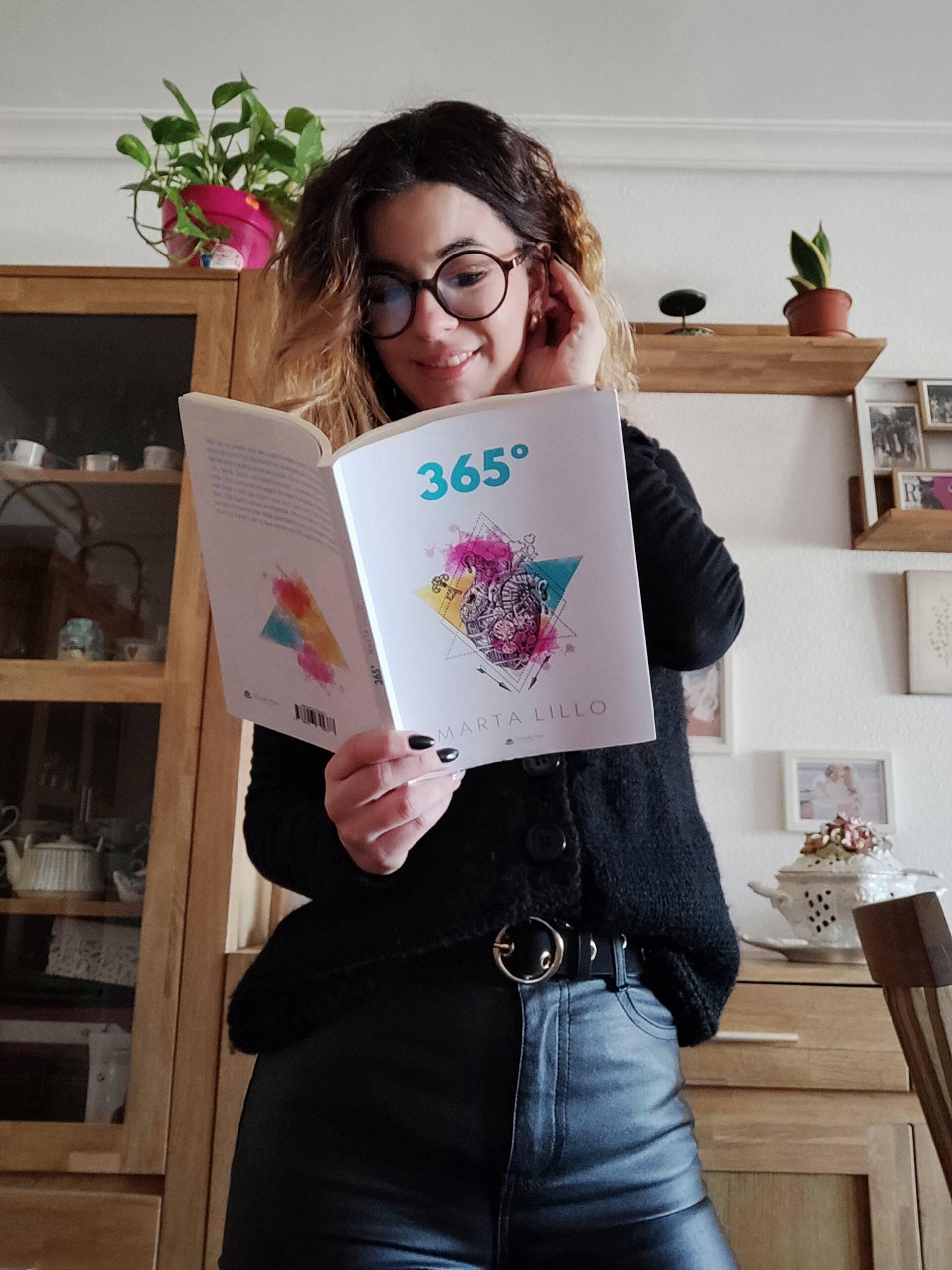 """Conoce a Marta Lillo, autora de """"365 grados"""""""