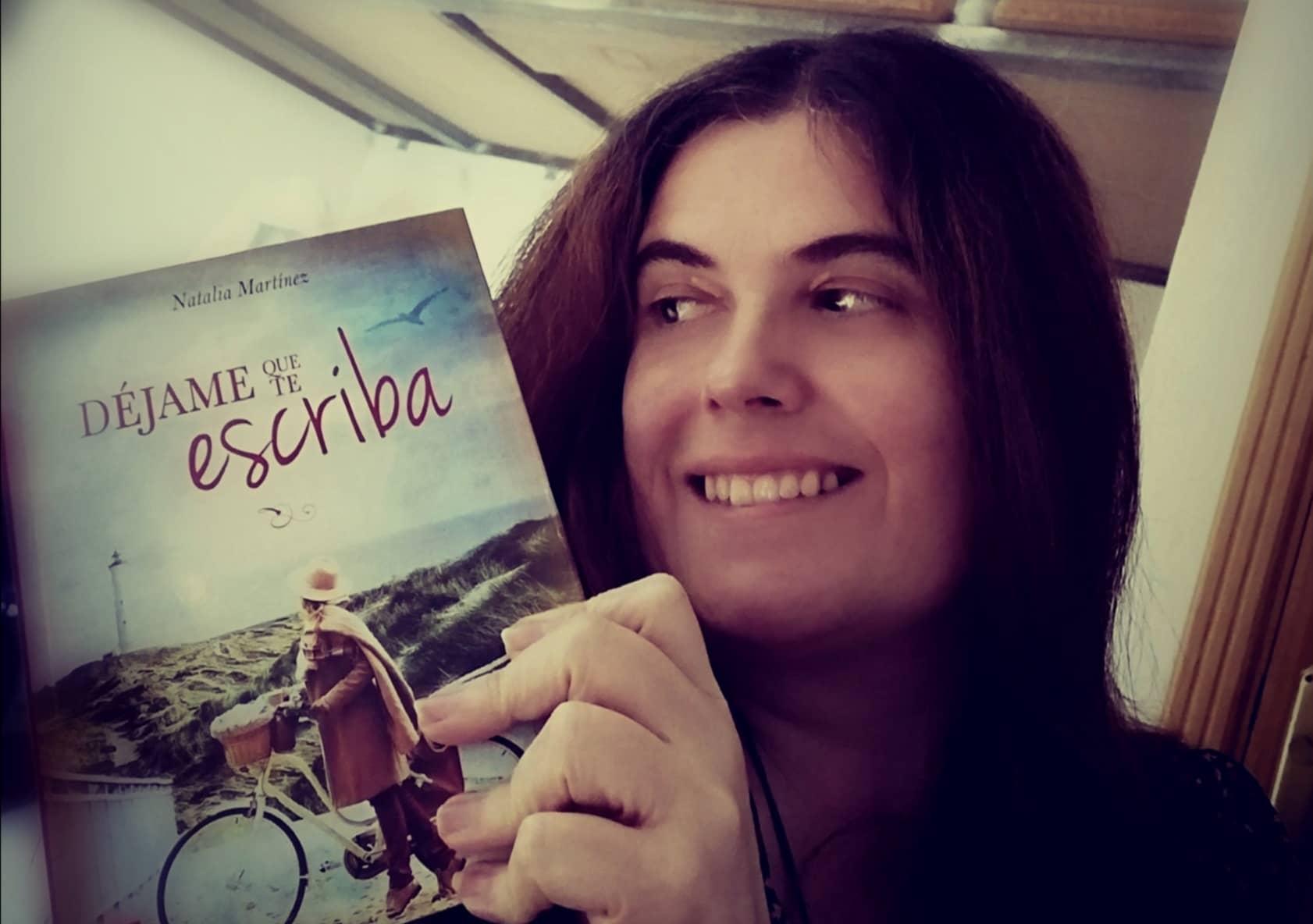 "Conoce a Natalia Martínez, autora de ""Déjame que te escriba""."