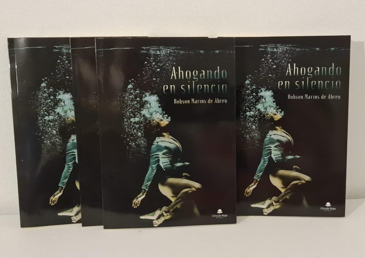 «Ahogando en silencio», nueva obra de Robson Marins de Abreu