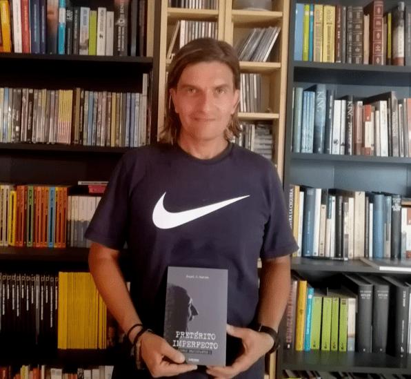 """Ángel J. García: """"La primera edición de mi libro se ha agotado en 40 días exactos"""""""