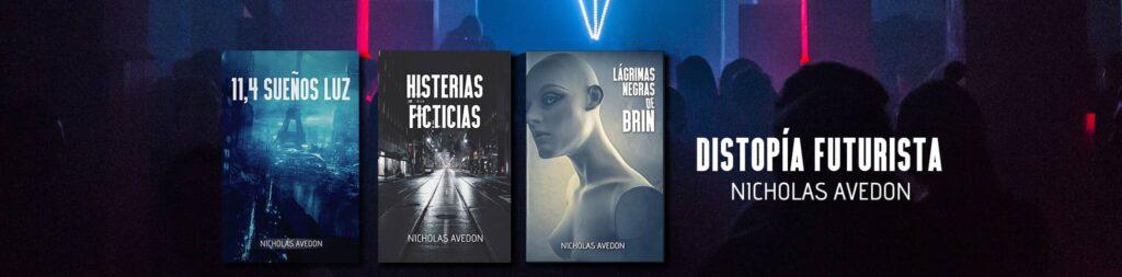 Banner Tres libros