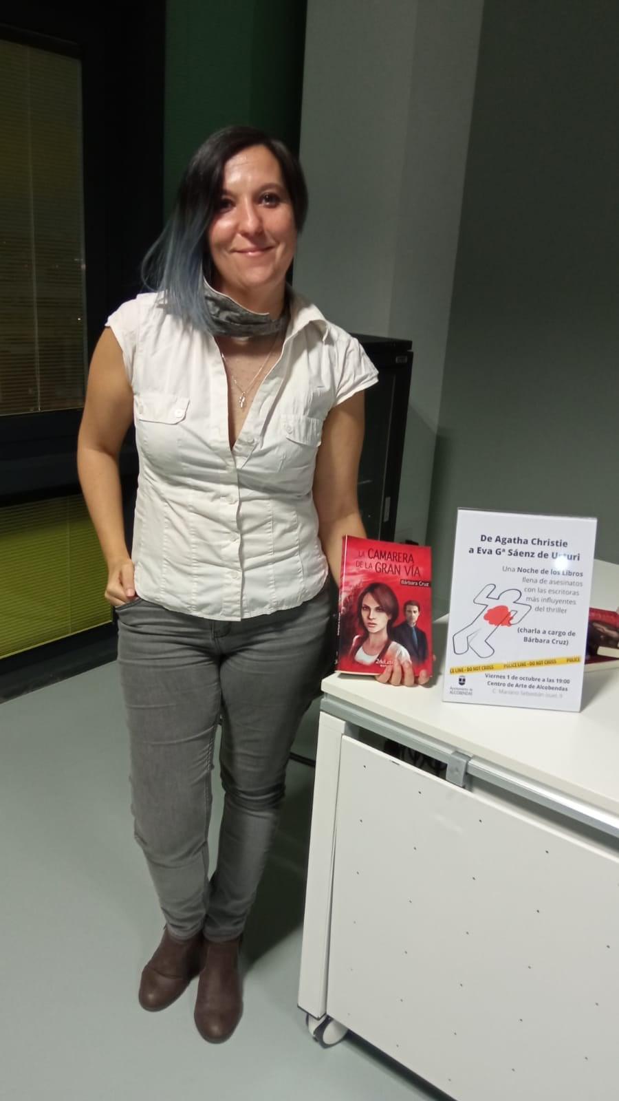 Bárbara Cruz fue la invitada de «La noche de los libros»
