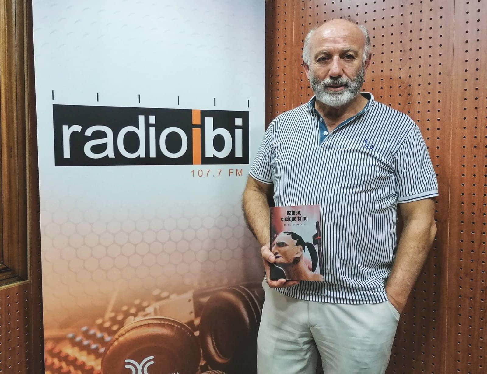 "Descubre la novela ""Hatuey, cacique taíno"", de Benidel Yáñez Díaz"