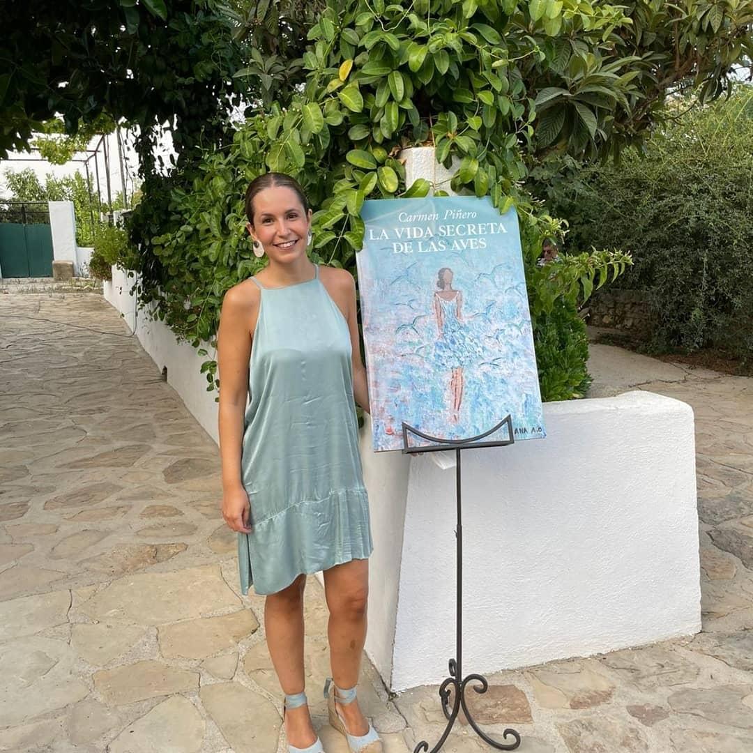 Carmen Piñero comienza a cosechar éxitos con «La vida secreta de las aves»