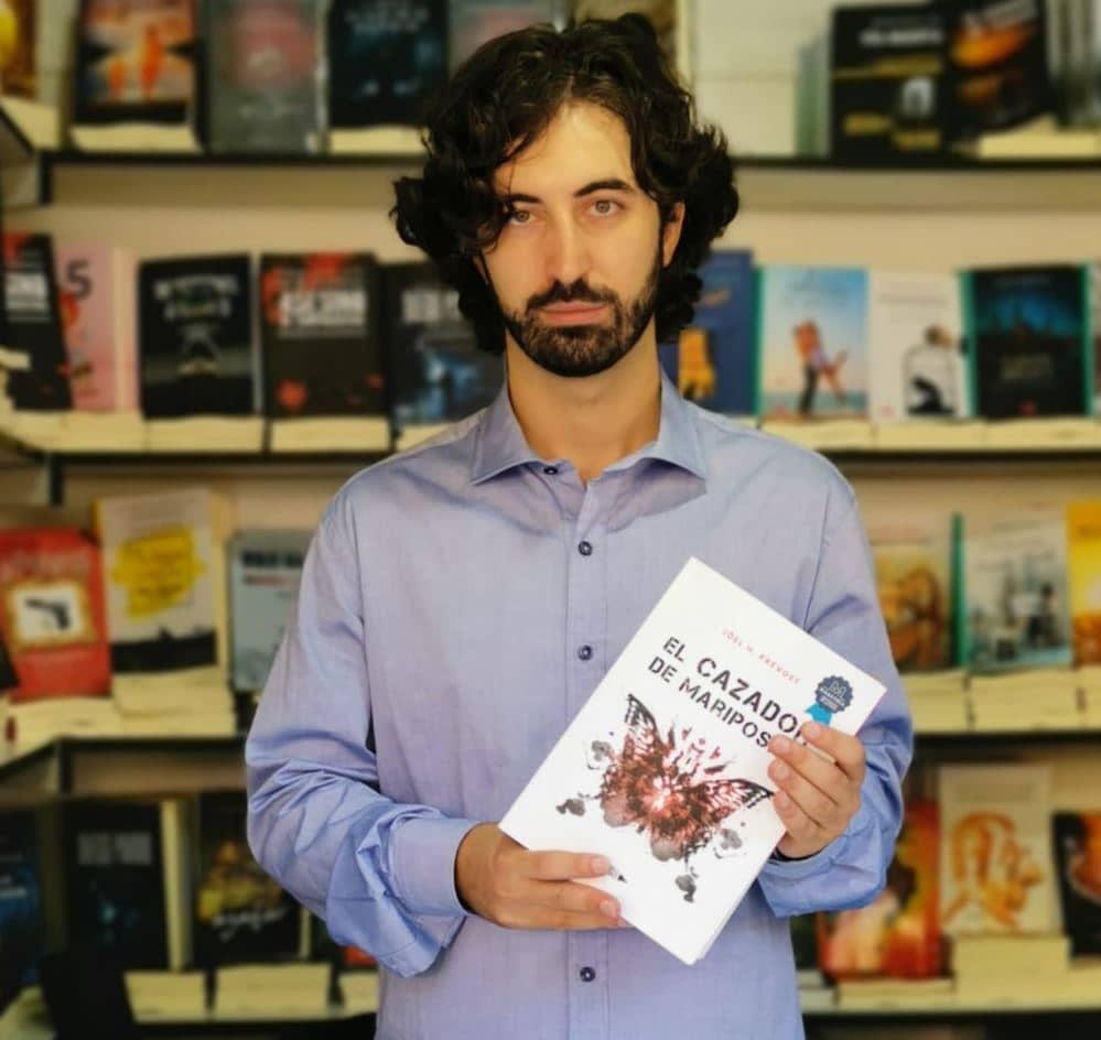 Jöel Holgado Prévost en la feria del libro de Madrid