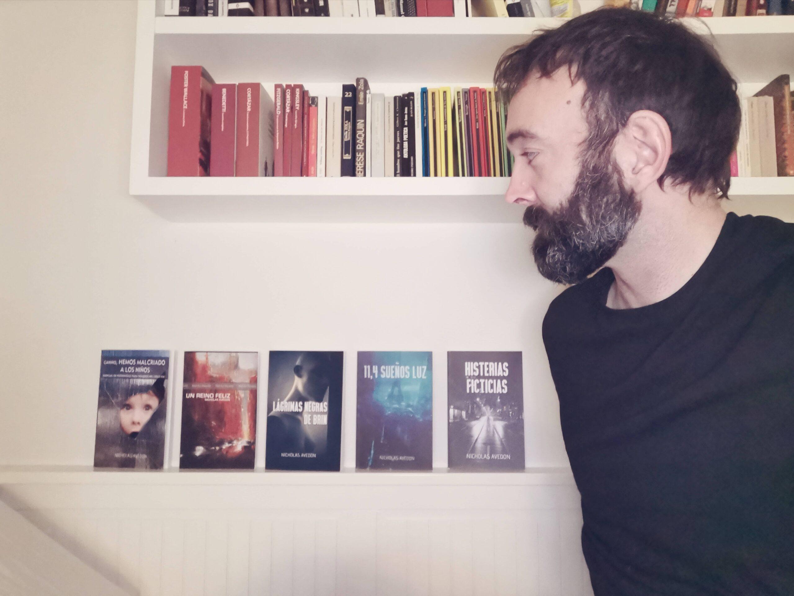 """Entrevista a Nicholas Avedon, autor de novelas de ciencia ficción """"11.4 años luz"""" y """"Lágrimas negras de Brin"""""""