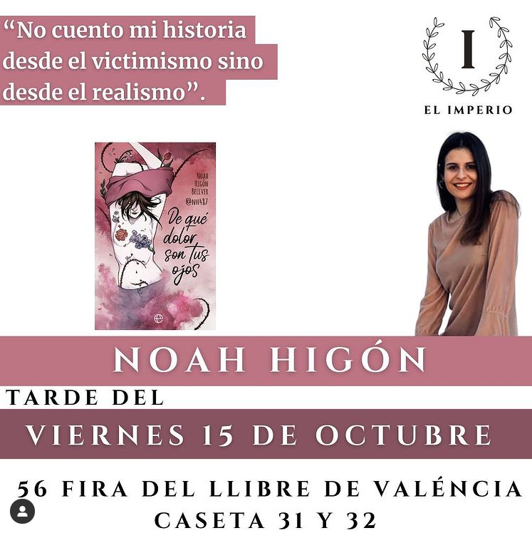 Noah Higuón - Feria del libro de Valencia