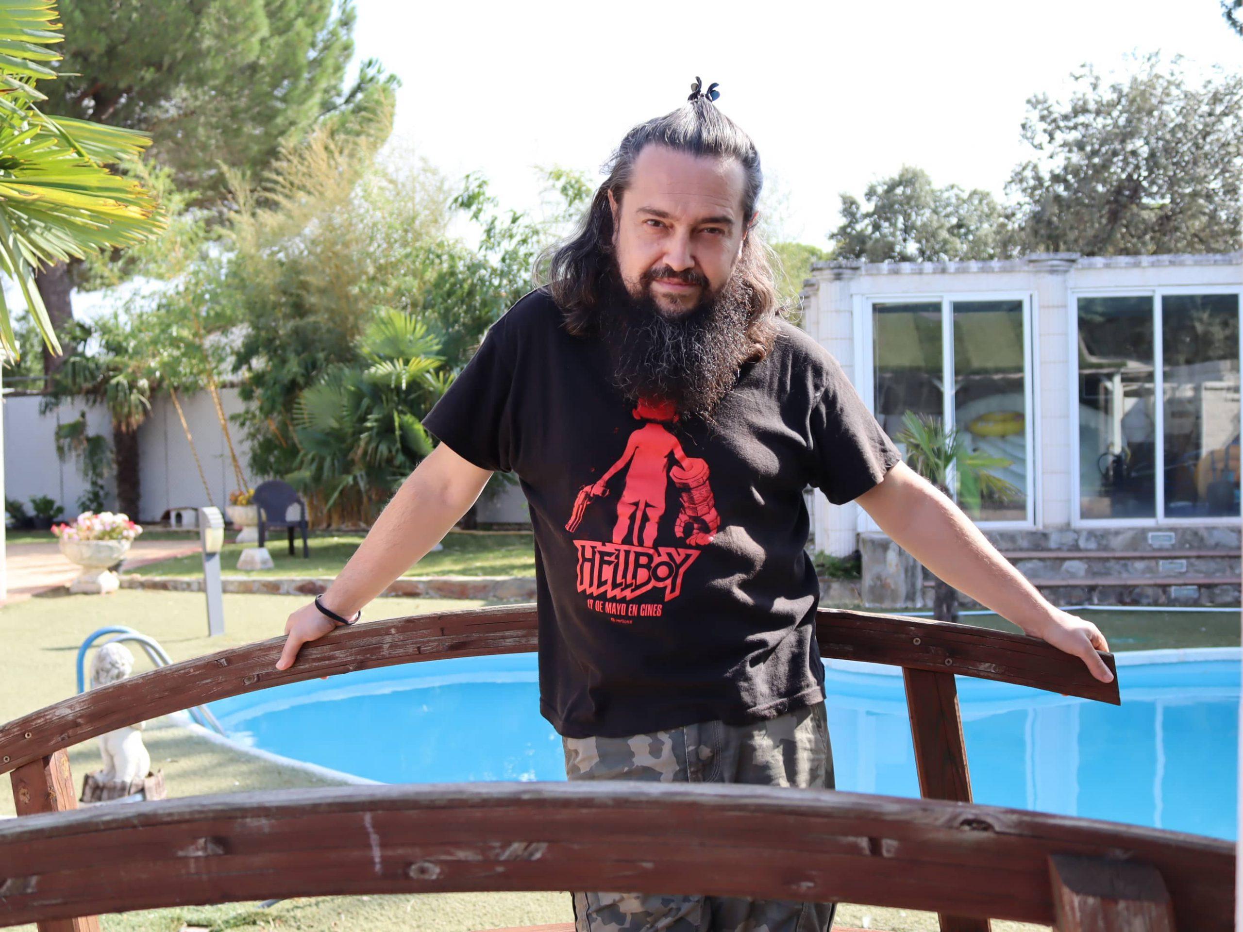 """Paco Puebla: """"La espiritualidad es algo íntimo que me acompaña desde que era pequeño"""""""