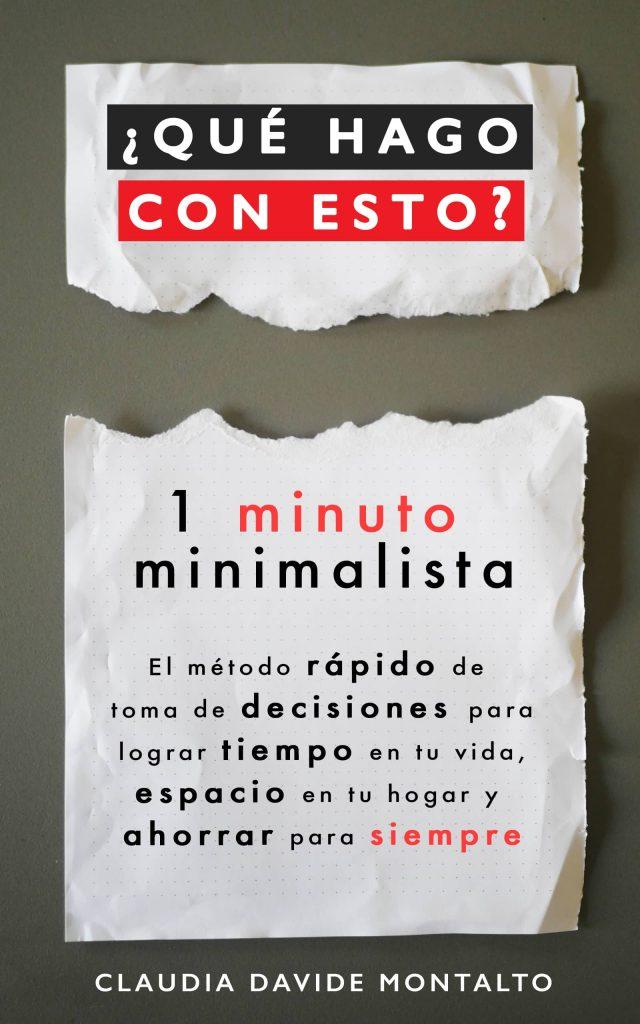 Portada 1 minuto minimalista