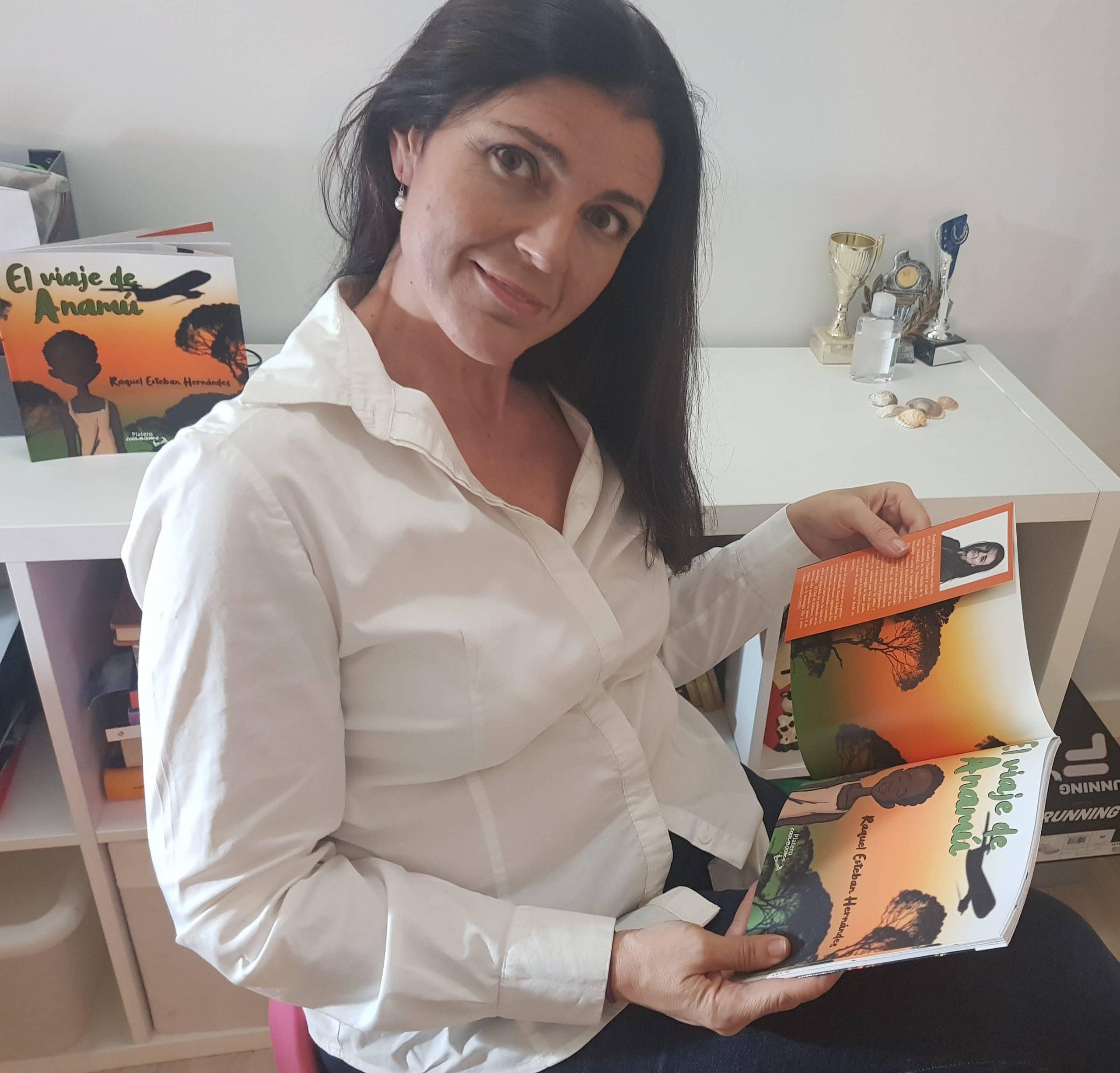 Entrevistamos a la autora Raquel Esteban, autora del cuento «El viaje de Anamú»