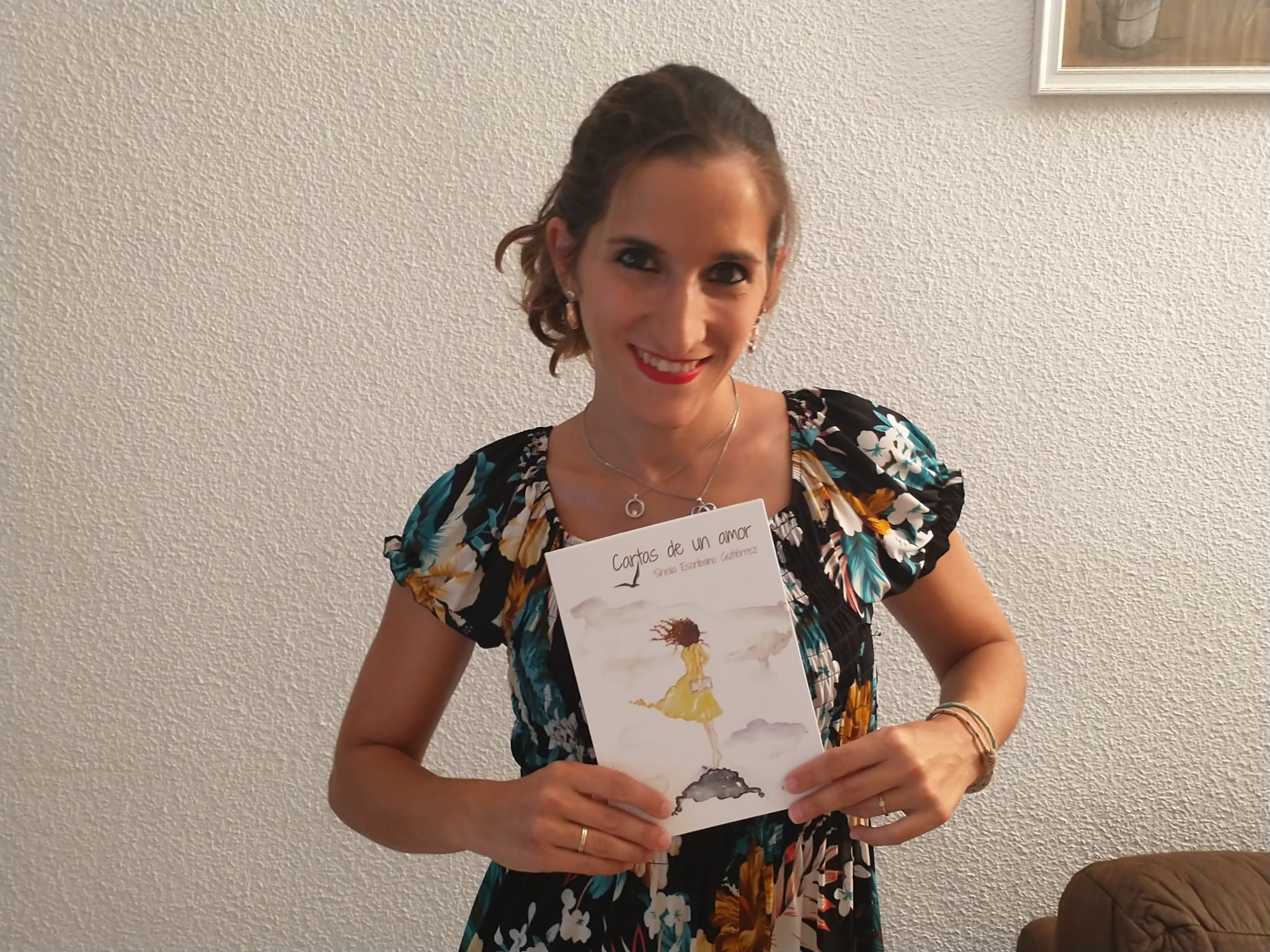 «Cartas de un amor», el primer libro de la cordobesa Sheila Escribano