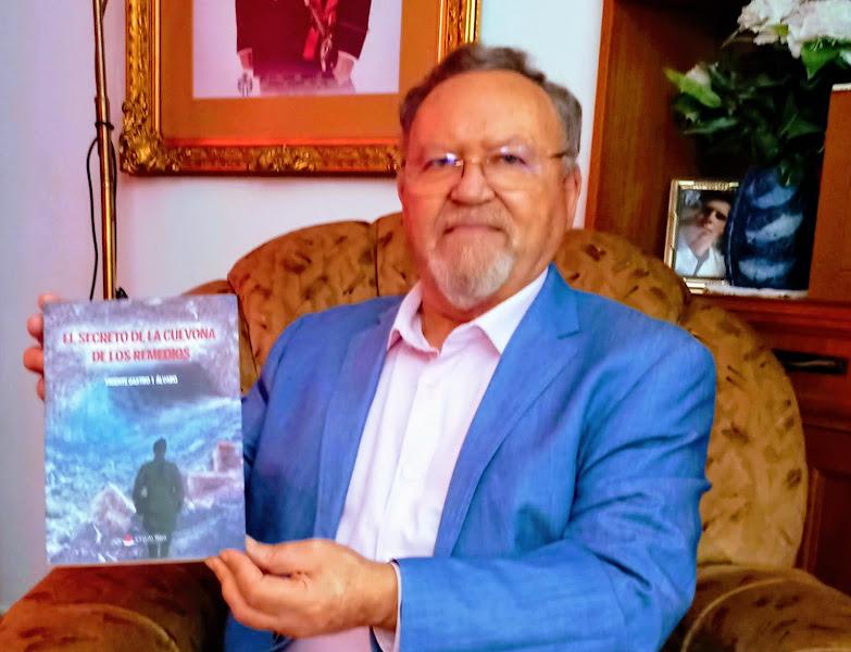 Vicente Castro i Alvaro, autor de 12 obras: «Si eres feliz escribiendo no es necesario que los demás te digan lo que a ellos les gusta»