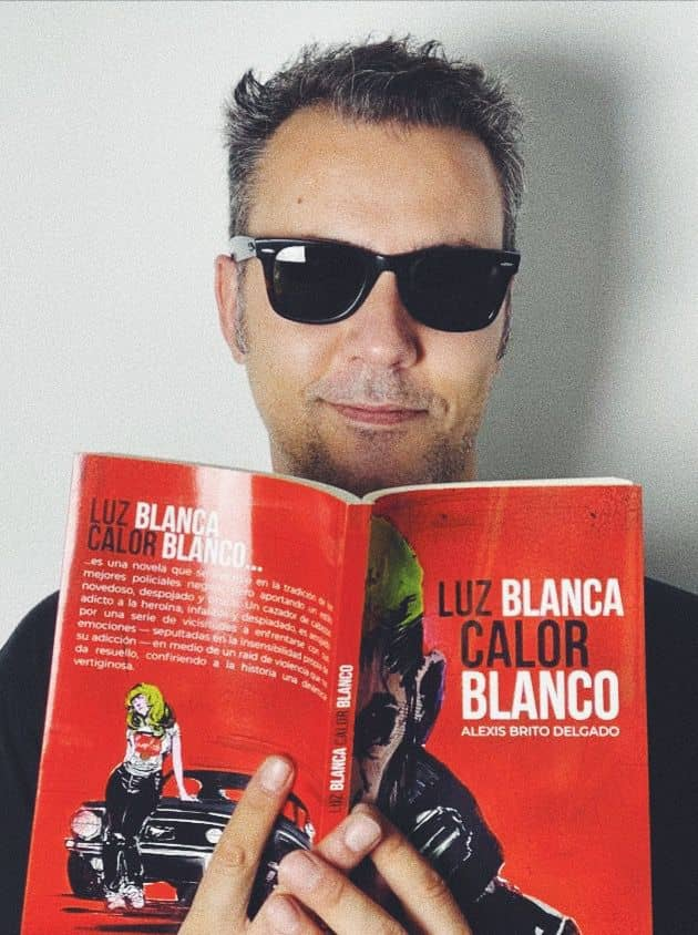 "Entrevista a Alexis Brito Delgado, autor de ""Luz Blanca/Calor Blanco"""
