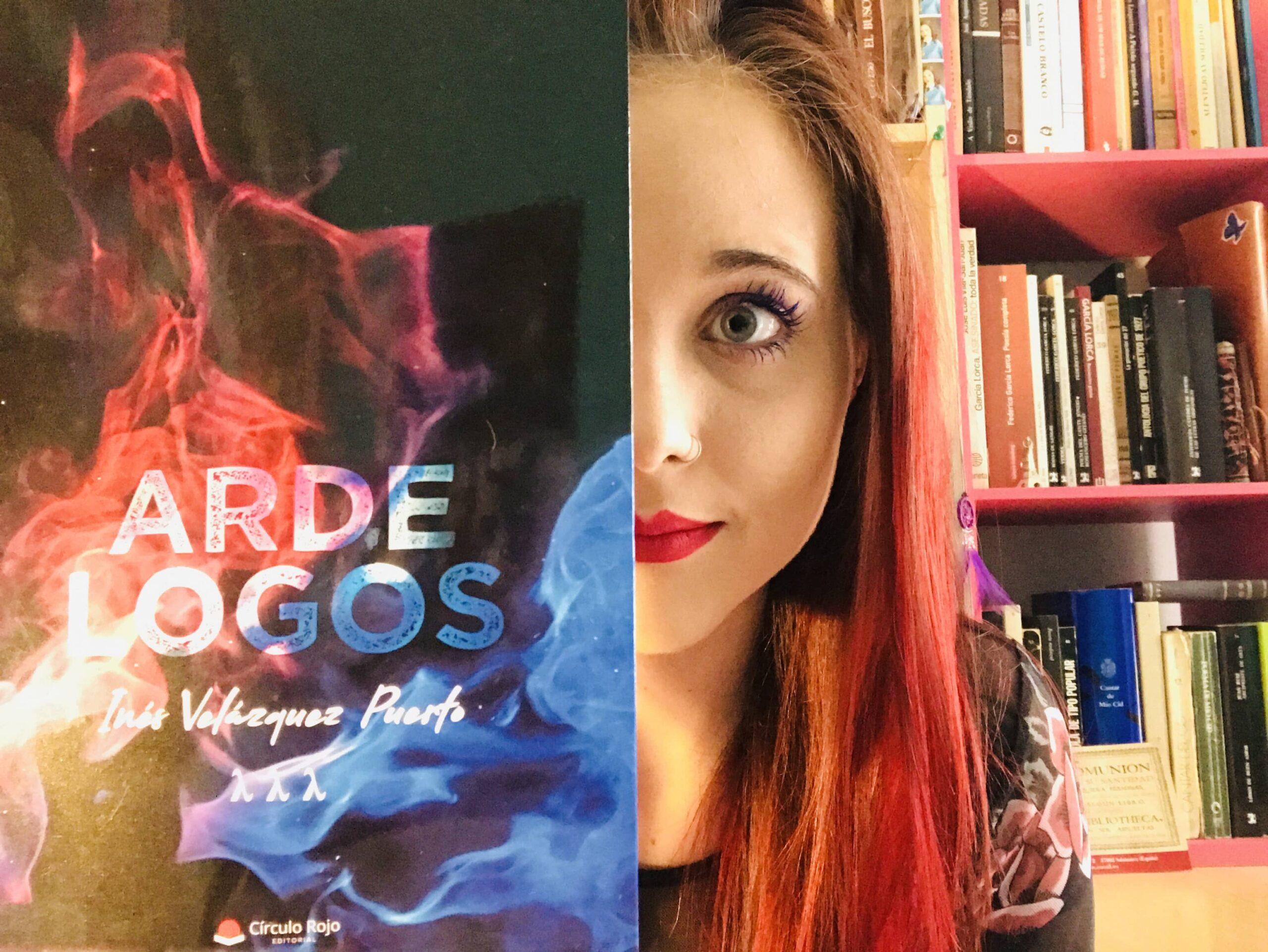 "Conoce a Inés Velázquez Puerto, autora de ""Arde Logos"""
