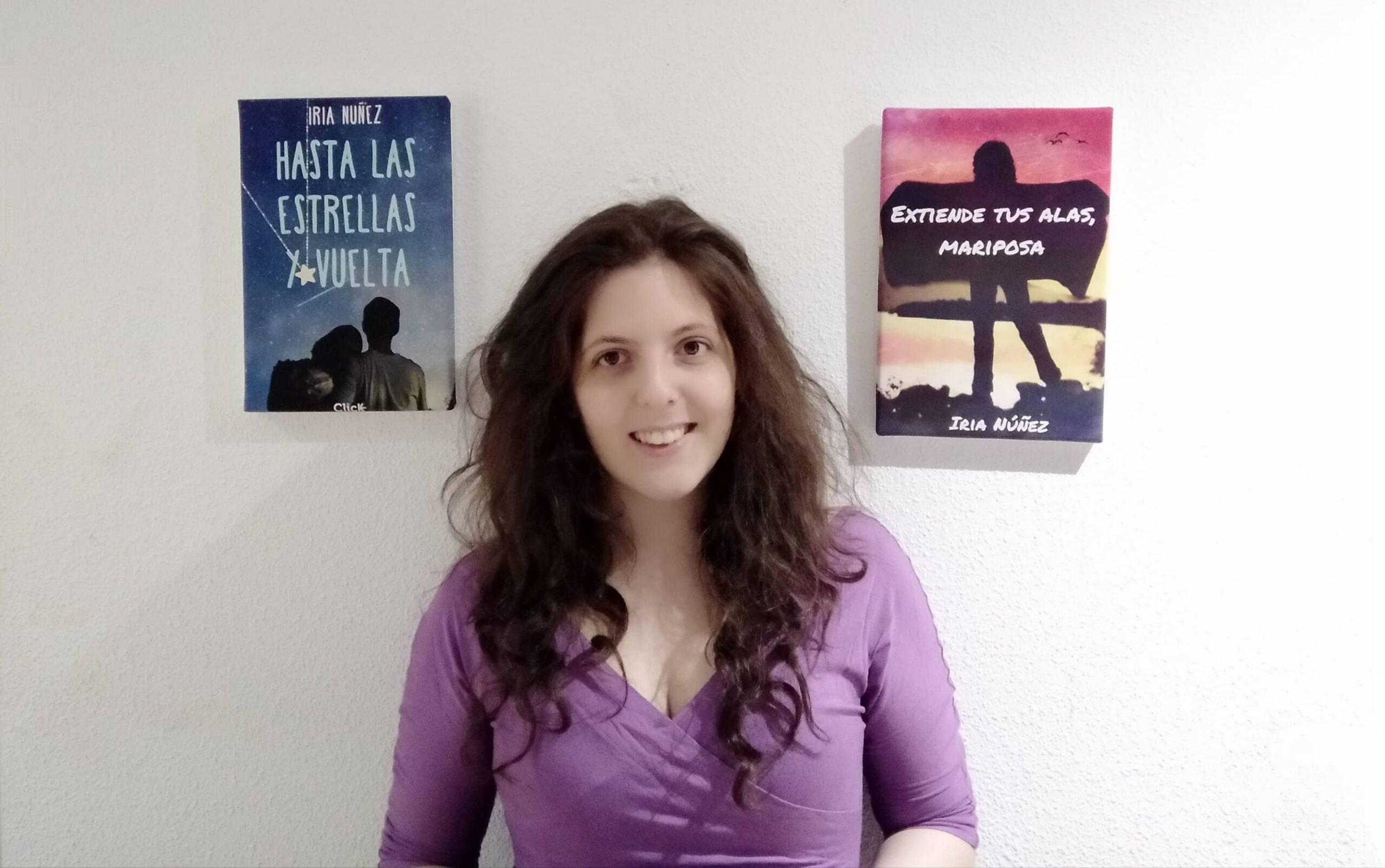 Entrevista a Iría Núñez, autora de «Hasta las estrellas y vuelta» y «Extiende tus alas, mariposa»