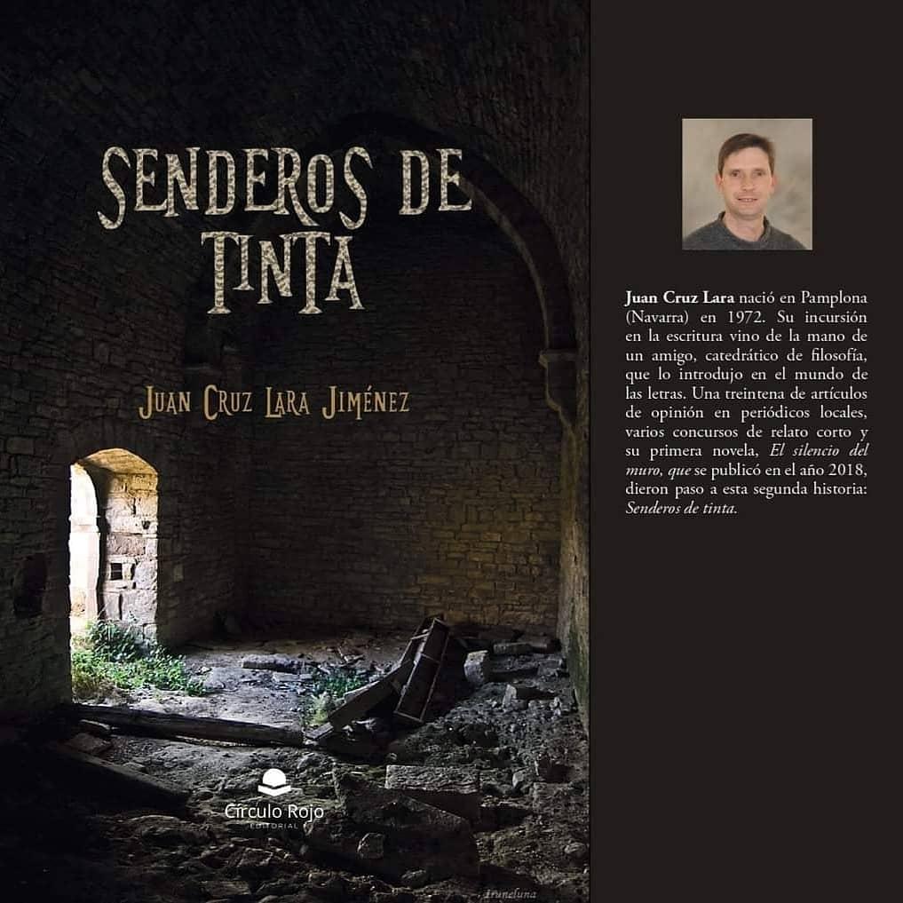 """Entrevista a Juan Cruz Lara Jiménez, autor de la novela """"Senderos de tinta"""""""