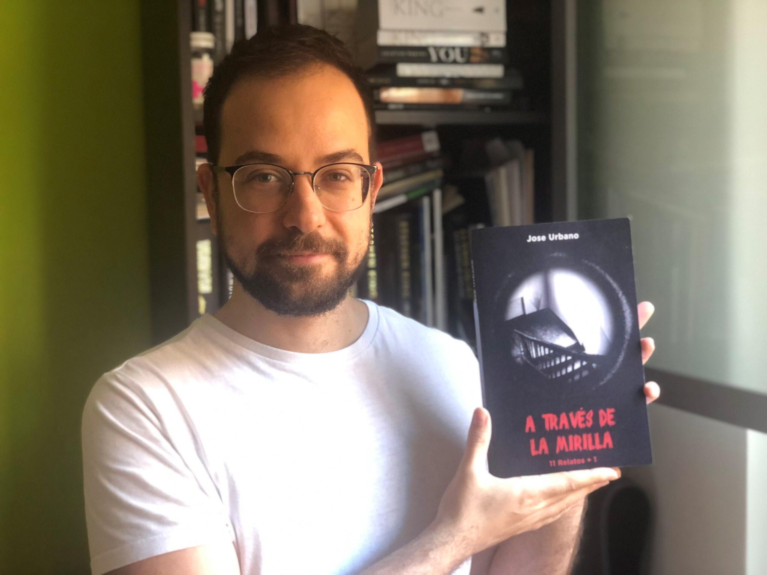 """Conoce a Jose Urbano, autor de la novela, """"A través de la mirilla"""""""