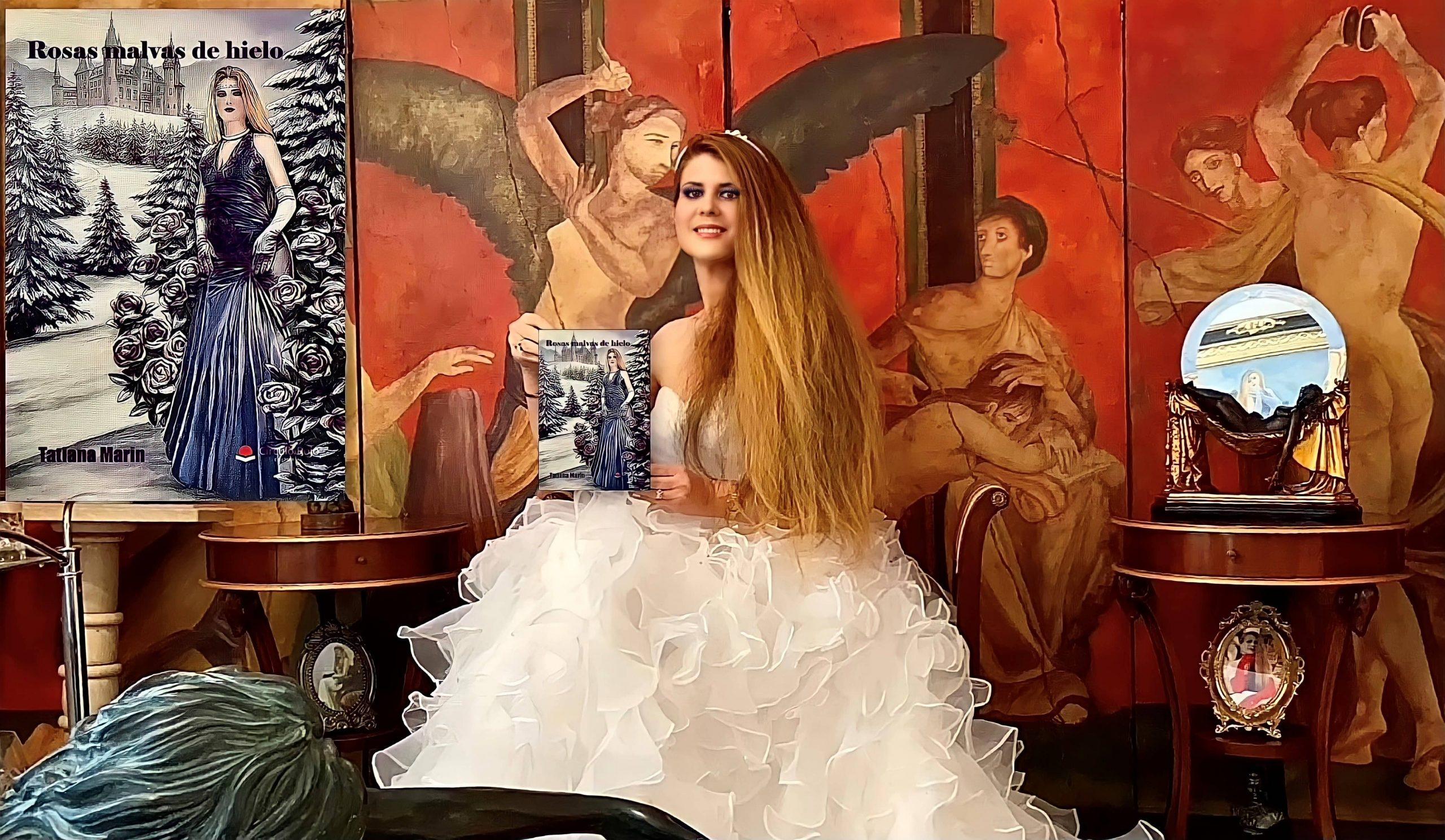 «Rosas malvas de hielo», nueva obra de la escritora estadounidense Tatiana Marín
